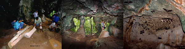 Cave on the Beach of Selayar south Sulawesi