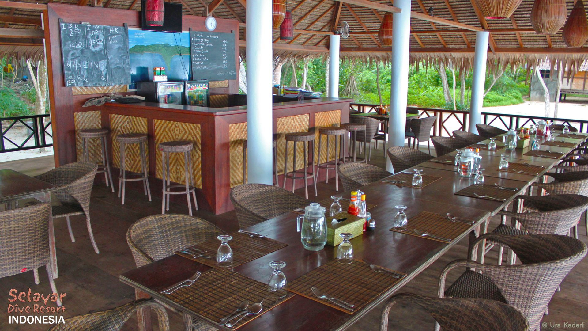 Beach Restaurant south Sulawesi Eco Resort Indonesia