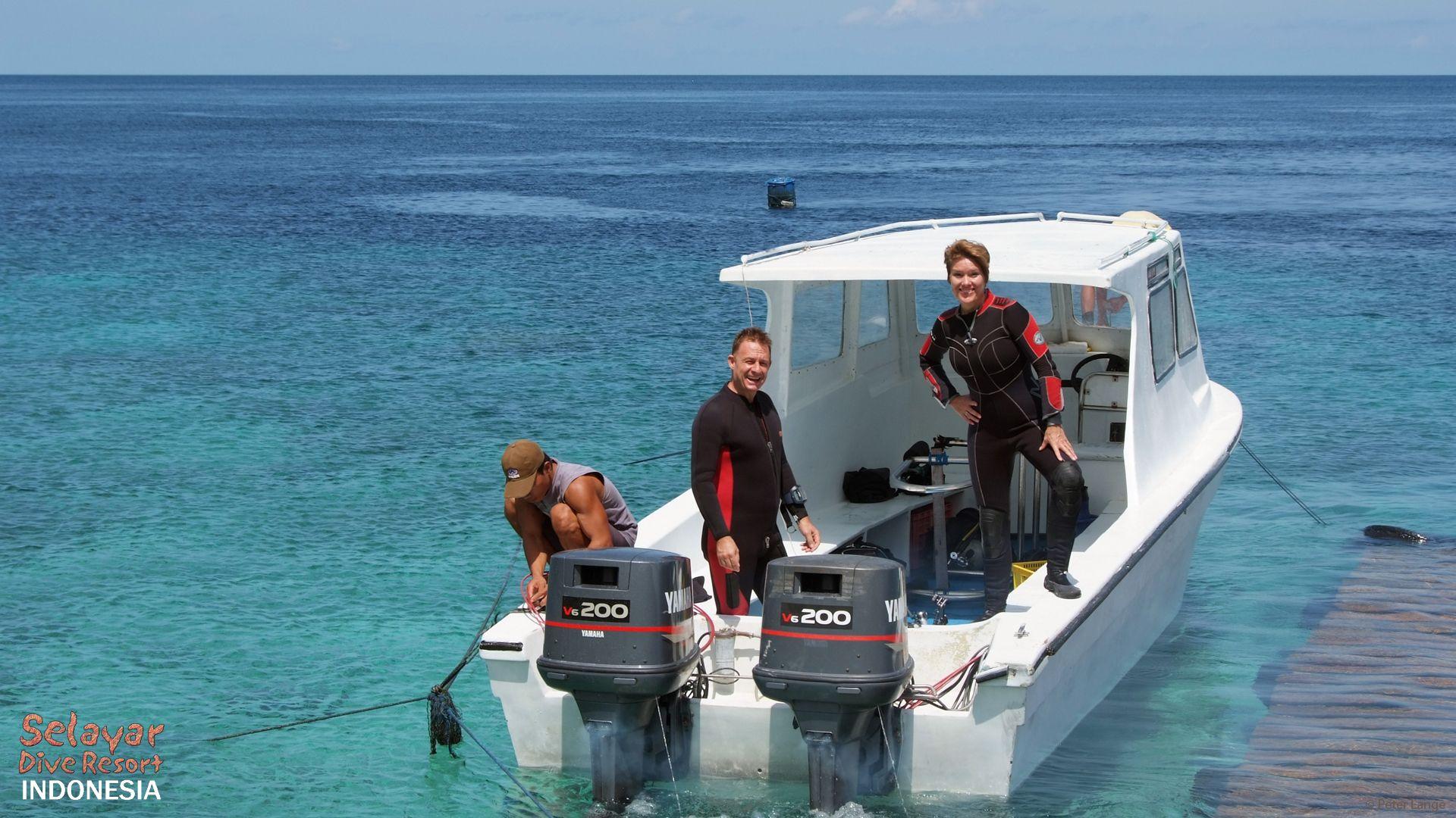 Eco Resort Indonesia Boat