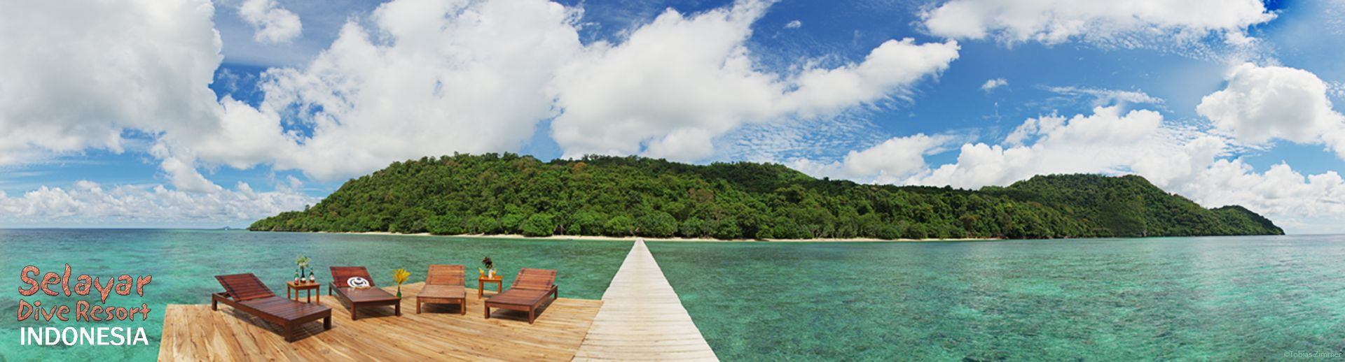 strand indonesien pier selayar dive resort