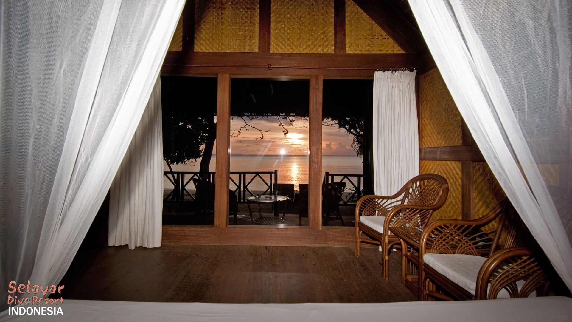 White Sand Beach Bungalow Indonesia