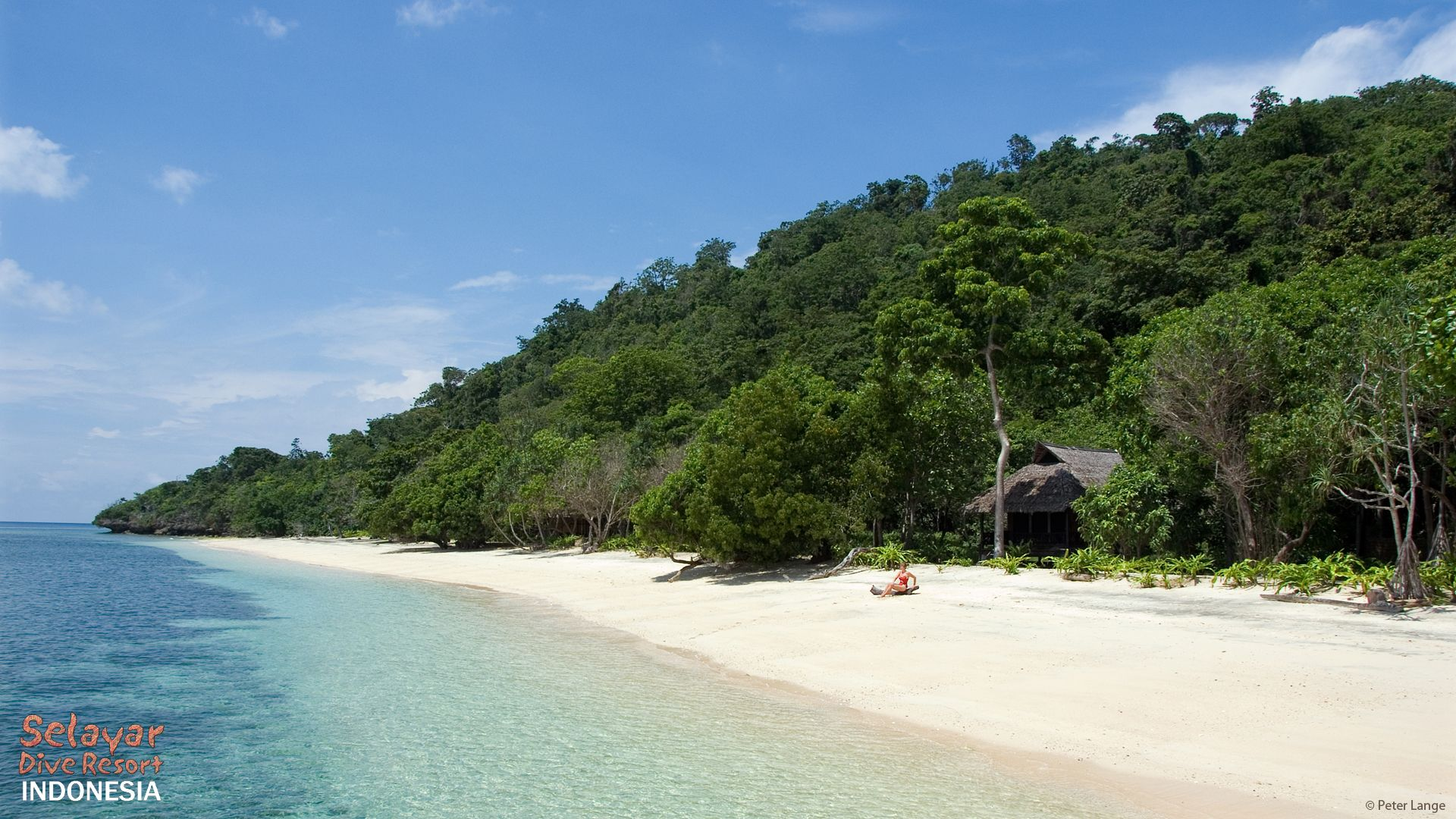 White Sand Beach Bungalow Indonesia South Sulawesi