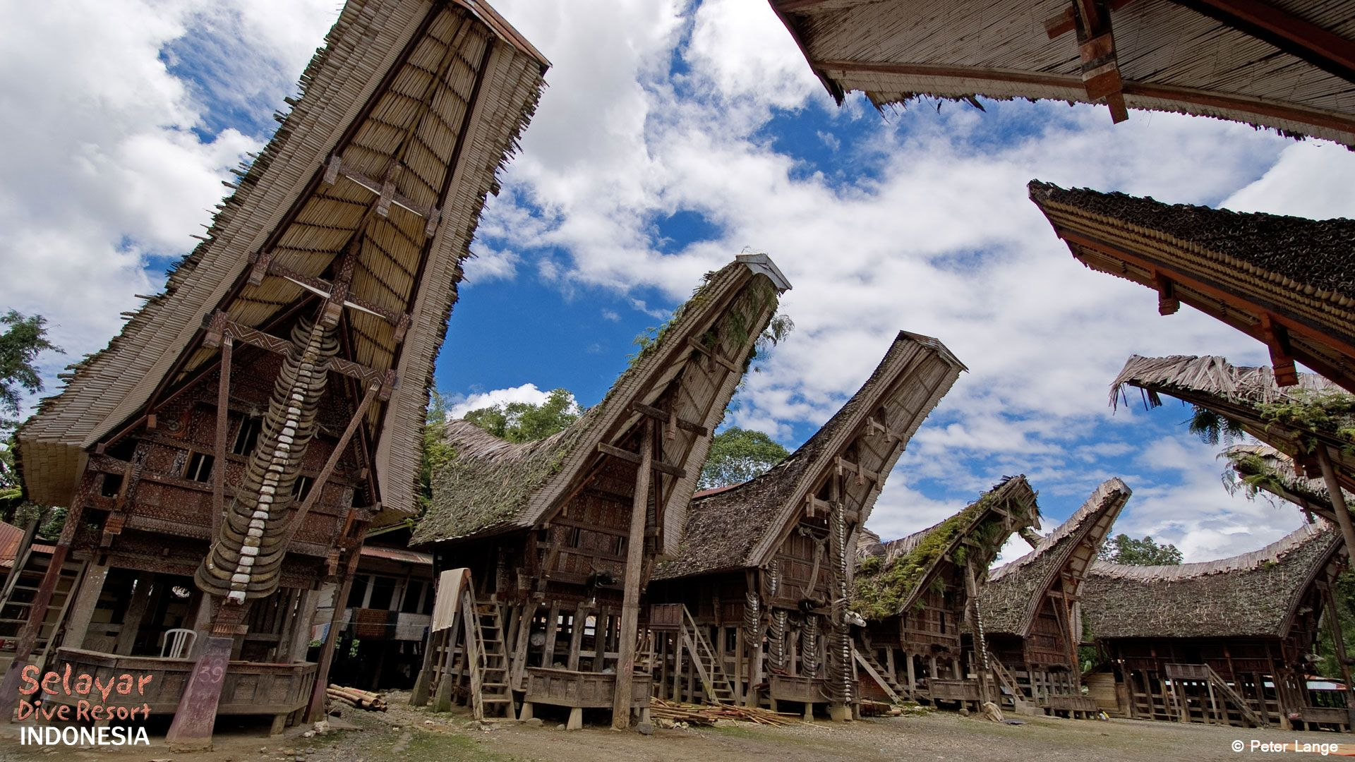Toraja Village Indonesia