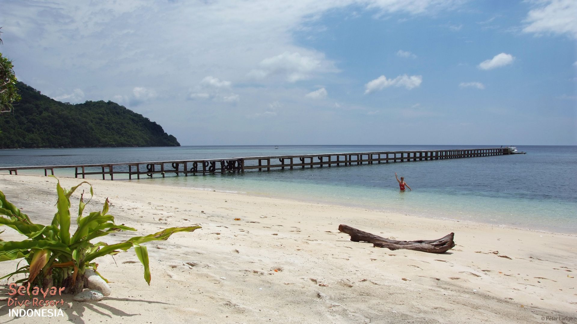 White Sand Beach Bungalow Sulawesi